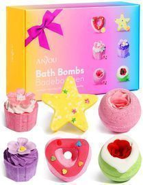 Anjou 6pc Bath Bombs Gift Set