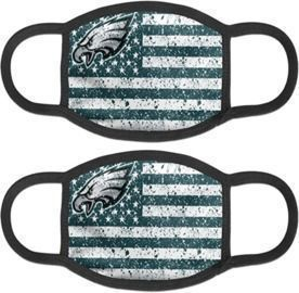 Olipa American Football Team 2Pcs Unisex Reusable Masks