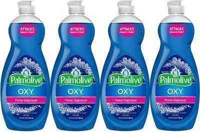 4pk of Palmolive Ultra Dish Soap Oxy Power Degreaser, 32.5 Fl Oz