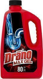 Drano Max Gel Drain Clog Remover and Cleaner, 80 oz