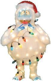 Pre-Lit 32 Rudolph The Red-Nosed Reindeer Bumble Christmas Yard Decoration
