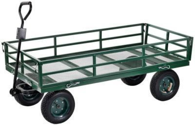 Industrial Strength Mesh Wire Utility Cart