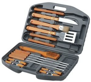 Chefs Basics Select Stainless Steel Grilling Set, 18pc