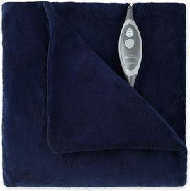 Sunbeam Microplush Electric Heated Throw Blanket