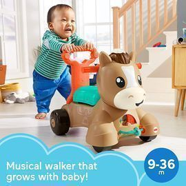 Fisher-Price Walk, Bounce & Ride Pony