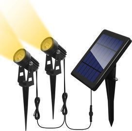 2 Pack of Otdair Solar Spotlights