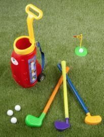 Hey! Play! 10pc Toddler Toy Golf Set