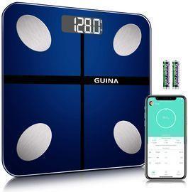 Bluetooth Digital Bathroom Scale with BMI & App