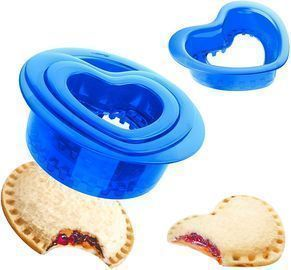 Yumkt Sandwich Cutters Round Heart Sandwich Cutter and Sealers
