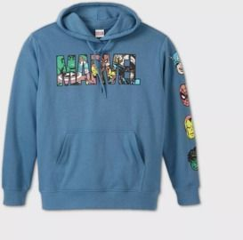 Men's Marvel Hooded Sweatshirt