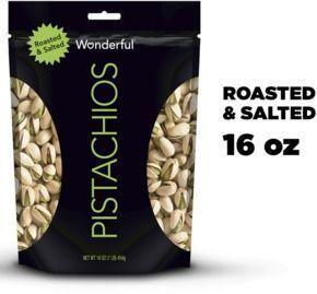 Wonderful Roasted & salted Pistachios, 16 Oz