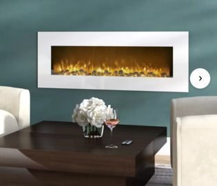 Quigley Wall Mounted Electric Fireplace