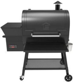 Lifesmart 1500 sq. in. Cooking Surface Pellet Grill and Smoker