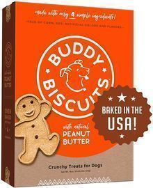 Buddy Biscuits Oven Baked Healthy Dog Treats
