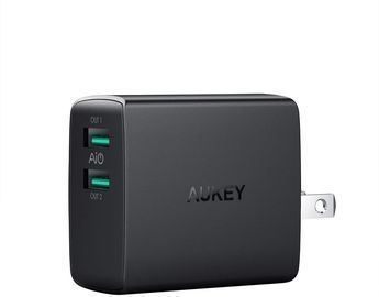 Aukey Dual Port (2.4x2) USB Wall Charger