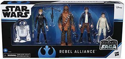 Star Wars Celebrate The Saga Toys Rebel Alliance Figure Set