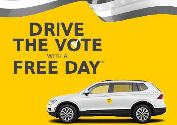 Hertz Car Rental - Drive The Vote With A Free Day