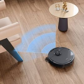 ECOVACS Robotics DEEBOT OZMO T8+ Vacuuming and Mopping Robot with Auto-Empty Station