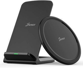 15W Wireless Seneo Type-C Fast Charging Pad and Stand