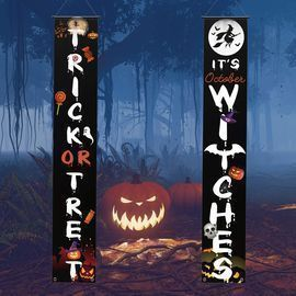 Outdoor Trick or Treat Banners