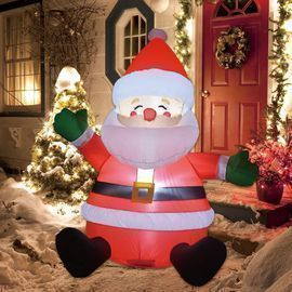 GOOSH 5' Christmas Inflatable Santa Clause