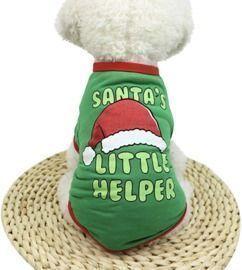 Santa's Litter Helper Puppy Shirt
