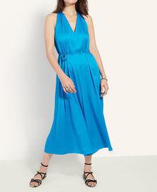 Ann Taylor Tie Waist Halter Midi Dress