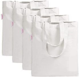 Set of 4 Canvas Bags