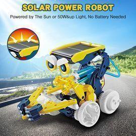 11-in-1 Educational Solar Robot Kit