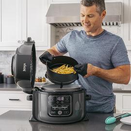 Ninja Foodi TenderCrisp 8-in-1 6.5-Quart Pressure Cooker, OP300