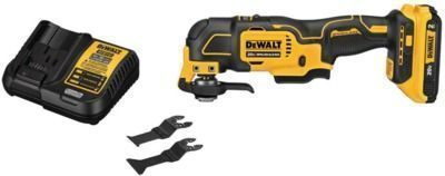 DeWalt 20V MAX Li-Ion Cordless Oscillating Tool Kit w/ Battery & Charger
