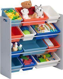 Honey-Can-Do SRT-06475 Kids Toy Organizer and Storage Bins
