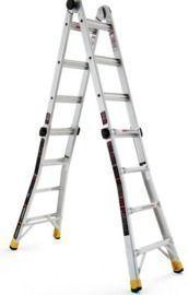 18' Aluminum Multi-Position Ladder by Gorilla Ladders