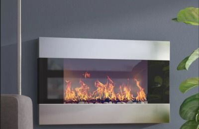 Clairevale 1500W Wall Mounted Electric Fireplace
