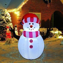 GOOSH 5 Foot Christmas Inflatable Snowman