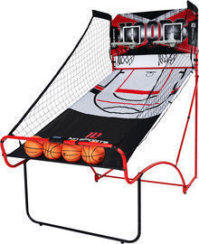 MD Sports Indoor EZ Fold Dual Shot Arcade Basketball Game