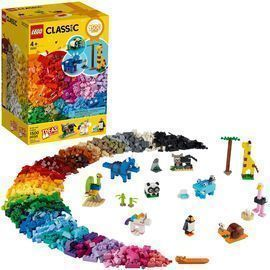 LEGO Classic Bricks and Animals 11011 Creative Toy (1,500 Pieces)