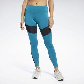 Reebok Women's Workout Ready Mesh Leggings