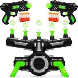 Glow-in-the-Dark Floating Target & Blaster Set
