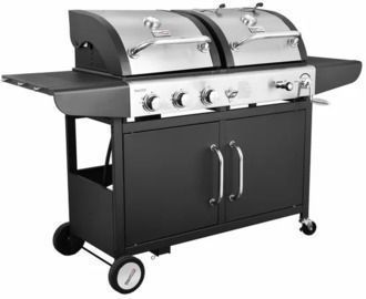 Royal Gourmet Performance 3-Burner Gas and Charcoal Grill