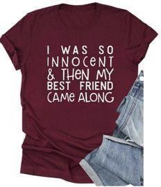 Innocent Best Friend Short Sleeve Graphic T-Shirt