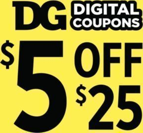 Dollar General - $5 Off $25+ (Saturday 1/23 Only)