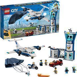 Lego City Sky Police Air Base Building Kit