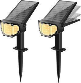 2-Pack of Otdair Solar Landscape Spotlights