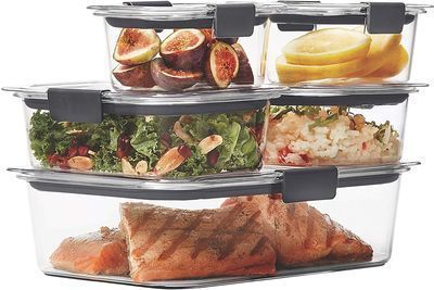 Rubbermaid Brilliance Leak-Proof Food Storage Containers (Set of 5)