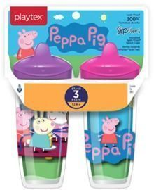 Playtex Sipsters Stage 3 Toddler Spout Cups - 2pk