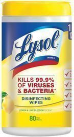 Lysol Disinfecting Wipes (Max 3 Per Order)