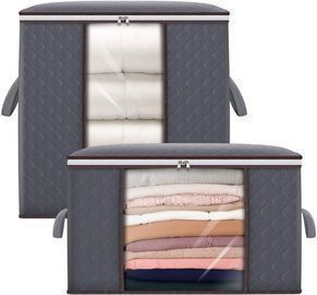 2 Pack of Storage Bags w/ Reinforced Handles
