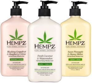 3 Pack Bundle of Hempz Herbal Body Moisturizer