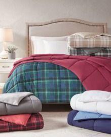 BF Deal NOW! Martha Stewart Collection Essentials Reversible Down Alternative Comforter
